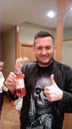NORBI pije Krzysztofa SKIBY ORANŻADĘ PRL