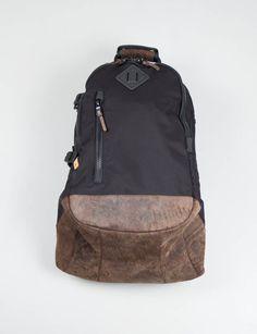 Visvim Black 20L Ballistic Backpack