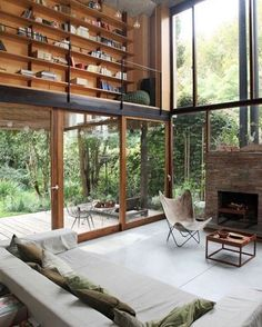 The perfect getaway home of  Alejandro Sticotti   _ Casa Olivos, Buenos Aires. _  @interiordesignlovers