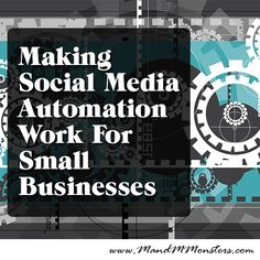 Using social media automation is a great way to allow small businesses to become part of the conversation, without disrupting their everyday...