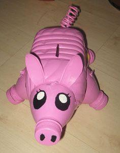DIY piggy bank
