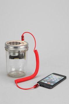 Trash Amps Mason Jar Portable Speaker
