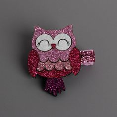 Fashion Cute Cartoon Flamingo And owl Baby Hairpin