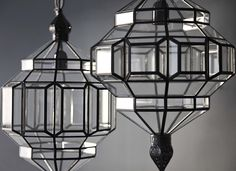 alhambra pendant lights from l'aviva homes granada lighting collection. seen in 2 different sizes. Goth Home Decor, Luxury Home Decor, Luxury Homes, Bedroom Lighting, Home Lighting, Glass Pendant Light, Pendant Lighting, British Colonial Decor, Mood Lamps