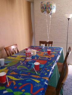 Intimate party table