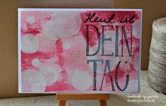 Bokeh Technik | Stampin' Up! |