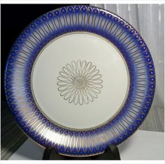 JOHANN SELTMANN VOHENSTRAUB BAVARIA PORCELAIN PLATE .. HAND PAINTED GOLD Listing in the Other,China & Porcelain,Porcelain, Pottery & Glass Category on eBid United States