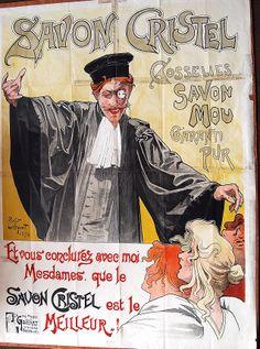 Savon Cristel, Henri Privat-Livemont, 1896