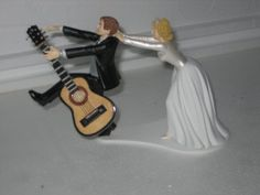 another musician cake topper