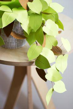 inspiración: plantas de papel