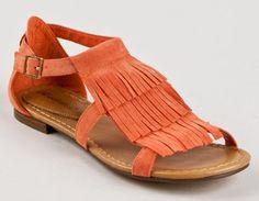 Amazon.com: Breckelle's Nadia-19 Flat Fringe Gladiator Sandal: Shoes