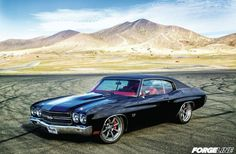 Greg Heinrich's '70 Chevelle on Grip Equipped Laguna wheels is featured at Hot Rod Magazine.