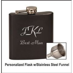 Personalized Flask You Choose Color and Design ... by ULEKstore, $13.98