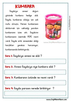Activities For Kids, Crafts For Kids, Learn Turkish, Turkish Language, Learning Arabic, Reading Passages, Texts, Preschool, Drama