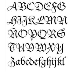 tipos de letras - Buscar con Google
