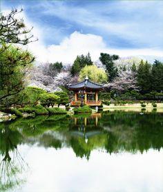 "lovesouthkorea: "" Bomun pavilion in Gyeongju (source) """
