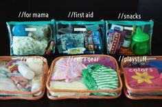 great idea for organizing your diaper bag or giant purse or whatever you carry a… - Baby hacks Our Baby, Baby Boys, Carters Baby, Diaper Bag Organization, Organization Ideas, Small Nursery Organization, Travel Organization, My Bebe, Everything Baby