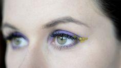 Sailor Saturn inspired makeup by http://makeupanddumbbells.blogspot.de/2016/05/eyemakeup-sailor-saturn-sailor-moon.html
