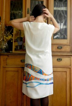 Summer silk dress. Large size silk dress. Hand от ArmeniaOnSilk