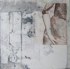 Karin Ceelen etching and photopolymer print
