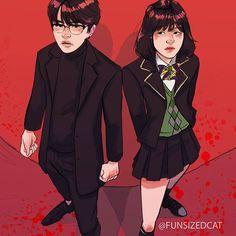 Min Yoongi and Min Yoonji💕 Suga Suga, Min Suga, Bts Bangtan Boy, Yoonmin, Ukiss Kpop, Fanfic Kpop, Bts Fanfiction, K Pop, Fanart Bts