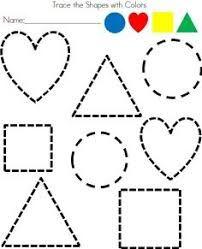 Preschool Worksheets, Preschool Learning, Preschool Activities, Preschool Shapes, Shape Activities, Preschool Activity Sheets, Shapes Worksheet Kindergarten, Preschool Coloring Pages, Preschool Writing