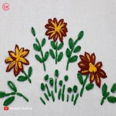 Brazilian Embroidery Stitches, Hand Embroidery Videos, Learn Embroidery, Crewel Embroidery, Ribbon Embroidery, Vintage Embroidery, Machine Embroidery, Embroidery Needles, Beginner Embroidery