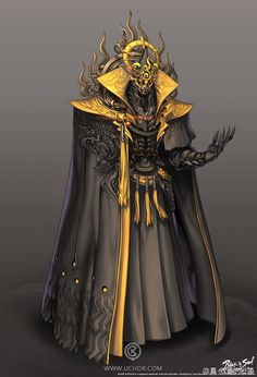 Nobody he who serves the old ones and brought maleketh back from the dead and also the dark elves to serve the old ones