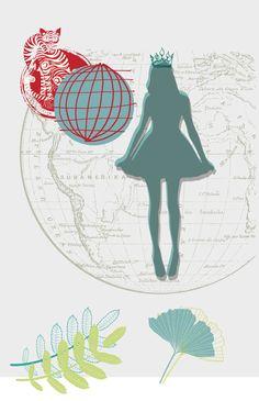 Grafiche per il nostro calendario 2016, dedicato al mondo femminile  #casawalden #comunicazione  #illustrazione #noallaviolenzasulledonne #dirittiumani #democrazia