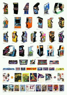 Relive the glory of arcade years through the medium of A3 poster
