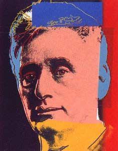Andy Warhol: Ten Portraits of Jews of the Twentieth Century: Louis Brandeis, 1980