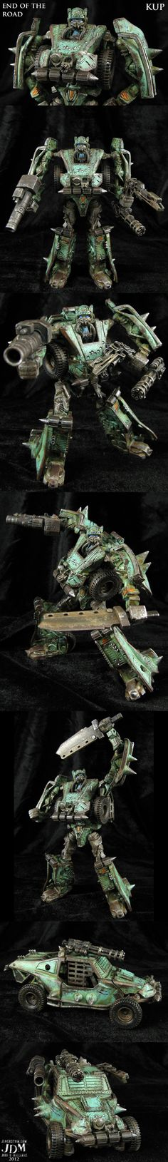 End of the Road Transformers Kup by *Jin-Saotome on deviantART