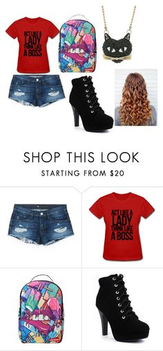 """Too Cool for School"" by cabre8500 on Polyvore featuring 3x1, Sprayground and Betsey Johnson"