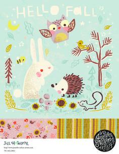 Jill Howarth Illustration / Jennifer Nelson Artists