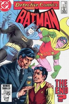 Detective Comics Vol 1 #542September, 1984