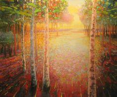 Mark Gould, Let Light Move Us: Arcadian acrylic, 60 x - Southwest Art Magazine Landscape Artwork, Contemporary Landscape, Watercolor Landscape, Contemporary Paintings, Abstract Landscape, Watercolour, 21st Century Artists, Acrylic Painting Techniques, Southwest Art