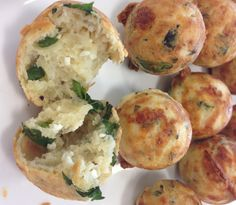 cheese & herb bites savoury cake pop recipe (try without paprika next time, 5min)