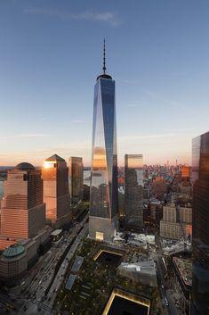 Galería de One World Trade Center / SOM - 1
