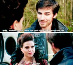 "Captain Hook and Regina - 5 * 11 ""Swan Song"""