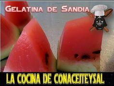 Como hacer GELATINA DE SANDIA y de frutas con Agar Agar , Trucos Consejo... - Conaceiteysal