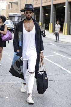 Galeria de Fotos Street style da semana de moda masculina de Nova York Verão 2016