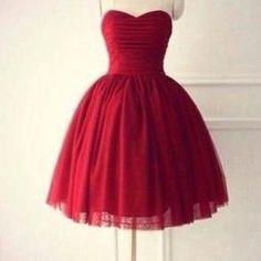 Short Prom Dress, Tulle Prom Dress