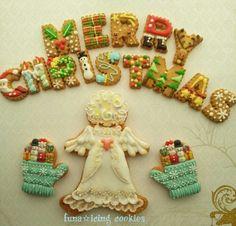 クリスマスクッキー その2☆|アイシングクッキーワークショップ ~Cookie mark~横浜市 準備中。。