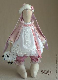 Toy animals, handmade. Fair Masters - handmade bunny Maja. Handmade.: