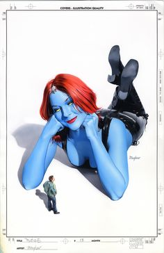 Mystique - Mike Mayhew