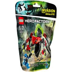 Amazon.com: Lego Hero Factory tunnel Beast VS surge 44024: Toys & Games