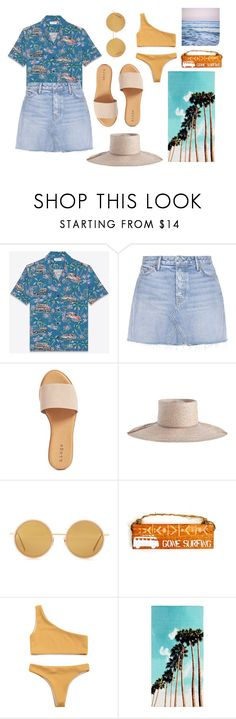 """""""men's shirts, short skirts"""" by lmfab ❤ liked on Polyvore featuring Yves Saint Laurent, GRLFRND, Hinge, Zimmermann, Acne Studios, PBteen and Leah Flores"""