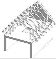 ferme de toit comble habitable sur entrait porteur pinterest combles ferme et entr es. Black Bedroom Furniture Sets. Home Design Ideas