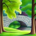 Art Lessons, Arts And Crafts, Pastel, Abstract, Bridges, Gallery, Outdoor Decor, Landscapes, Painting