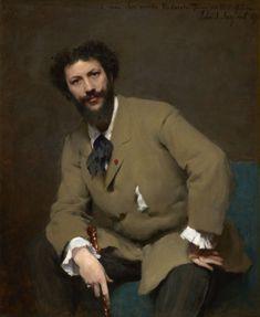 Portrait of Carolus-Duran, John Singer Sargent,(1879)